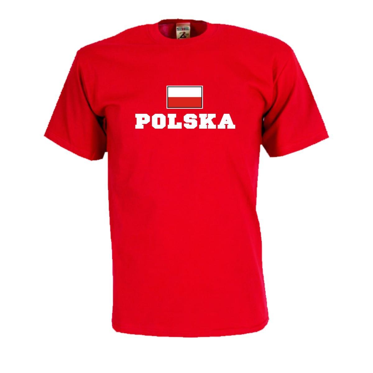 Kapuzenjacke POLEN Polska Flagshirt Zip Hoodie Fan