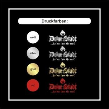 Freiburg T-Shirt mit coolem Druck harder than the rest bei ...