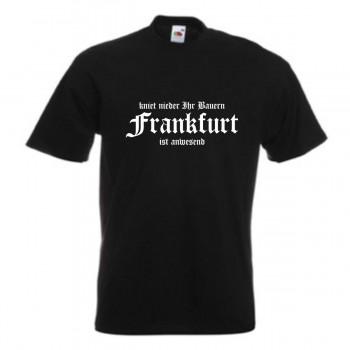 Hoodie S 6XL SFU05-38e Kapuzenjacke Frankfurt Tradition verpflichtet
