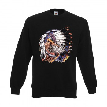 Sweatshirt Indian Chief, Indianer Funshirt S - 6XL (AIM00125)