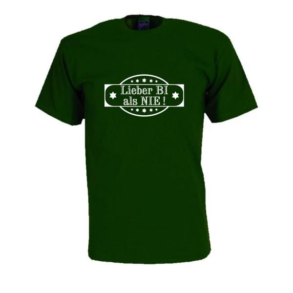 Lieber BI als NIE, Fun T-Shirt, bei theil-design